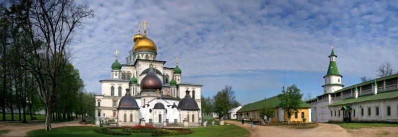 Экскурсия в Воскресенский Новоиерусалимский монастырь
