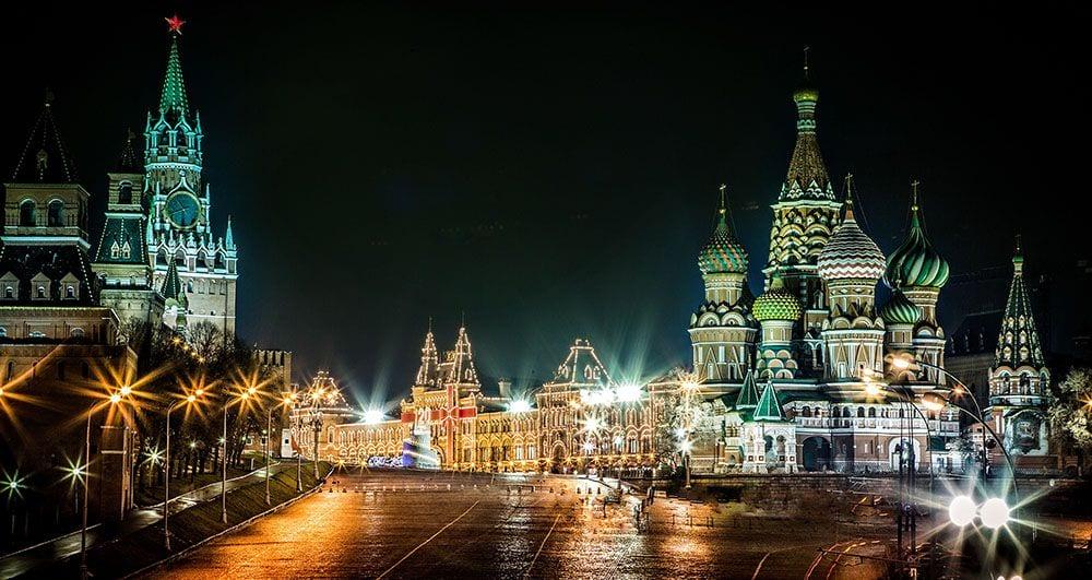 Ночная экскурсия по Москве