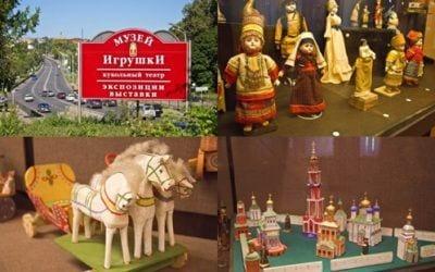 Экскурсии в Троицу-Сергиеву Лавру и фабрику деревянной игрушки